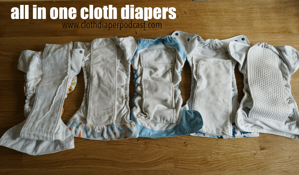 all in one cloth diaper podcast