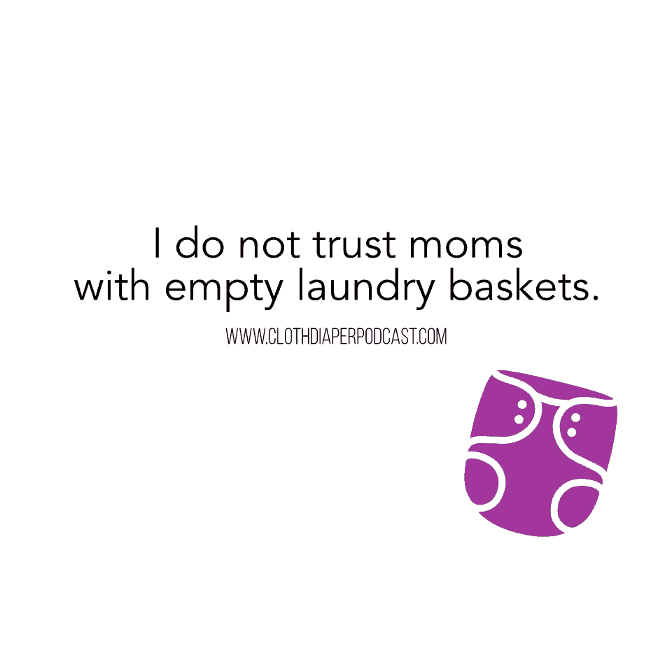 Cloth Diaper Memes & Quotes - Laundry Baskets