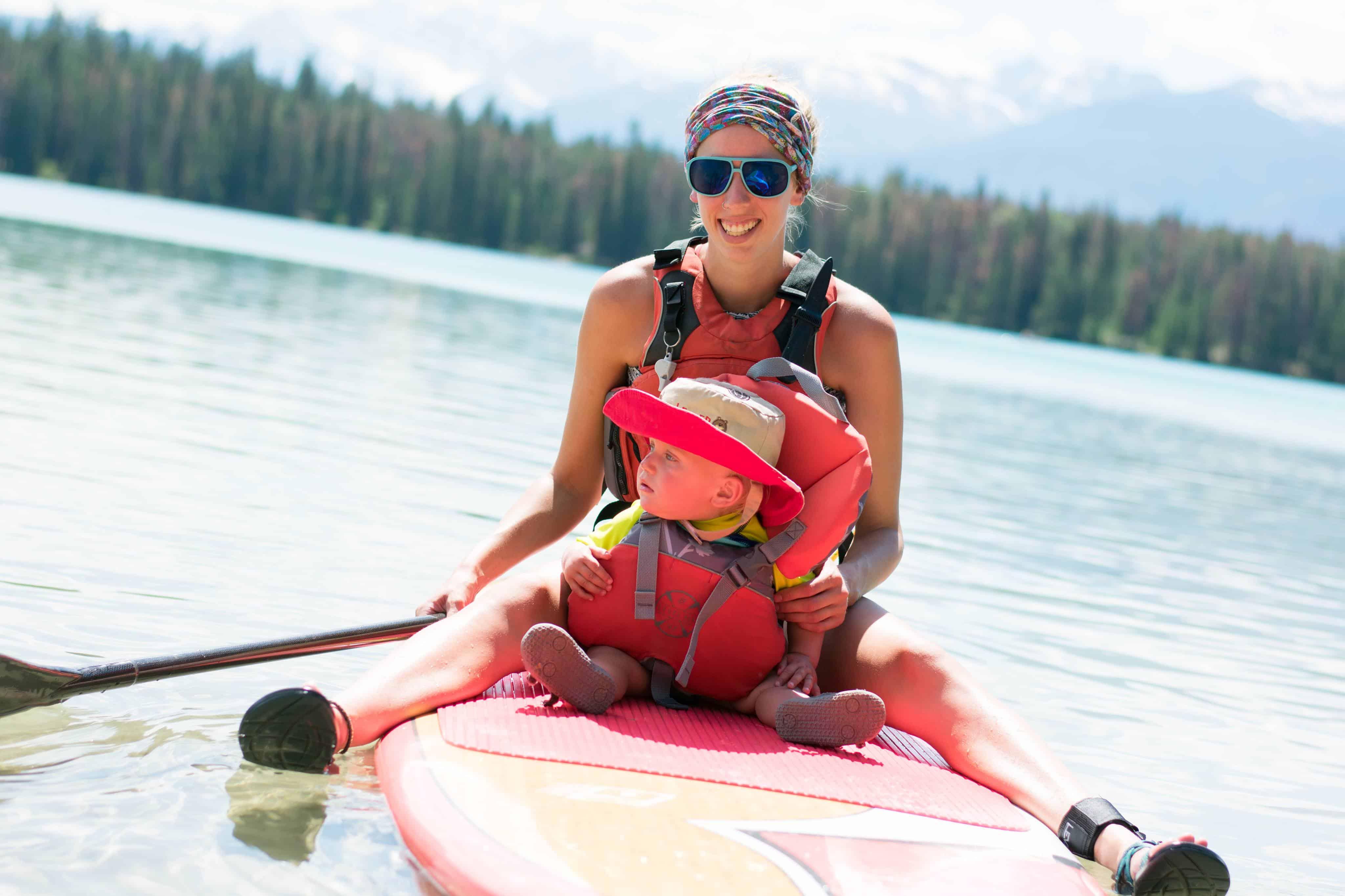 Cloth Diaper on Paddle Board - Sarah B
