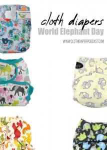 Cloth Diapers for Elephant Day