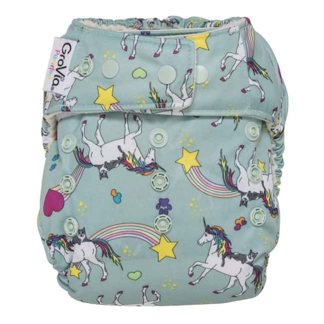 Purrfect by GroVia - Cat Cloth DIapers