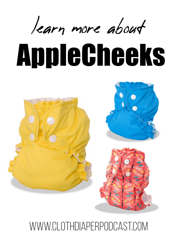 Learn More about AppleCheeks Cloth Diapers, Read Reviews and Where to BUy