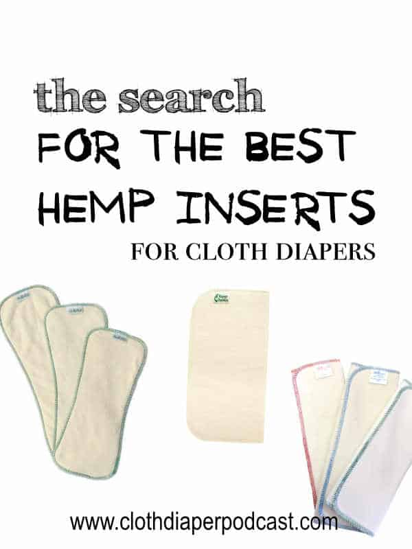Where to find Hemp Inserts for Cloth Diapers
