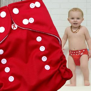 Valentines Cloth Diaper - Nuggles Pocket Diaper
