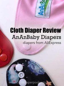 Cloth Diaper Review of AnAnBaby Diapers - Cheap Diapers from AliExpress
