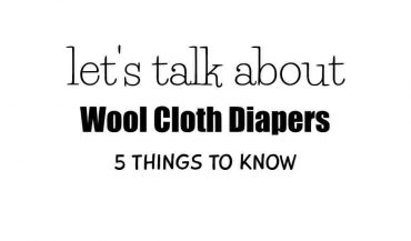 Wool Cloth Diapers