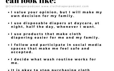 Cloth Diaper Boundaries