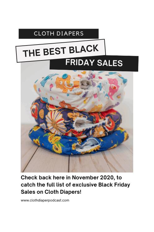 Cloth Diaper Black Friday Sales 2020