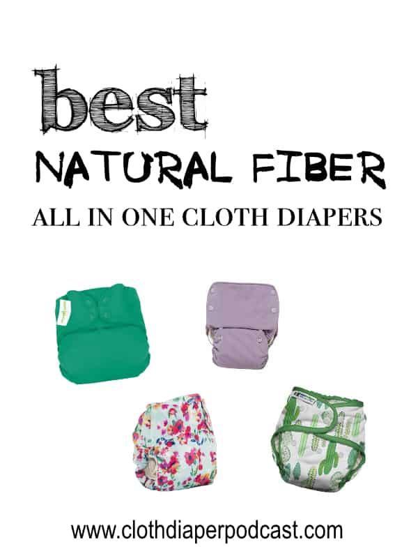 Natural Fiber AIO Cloth Diapers