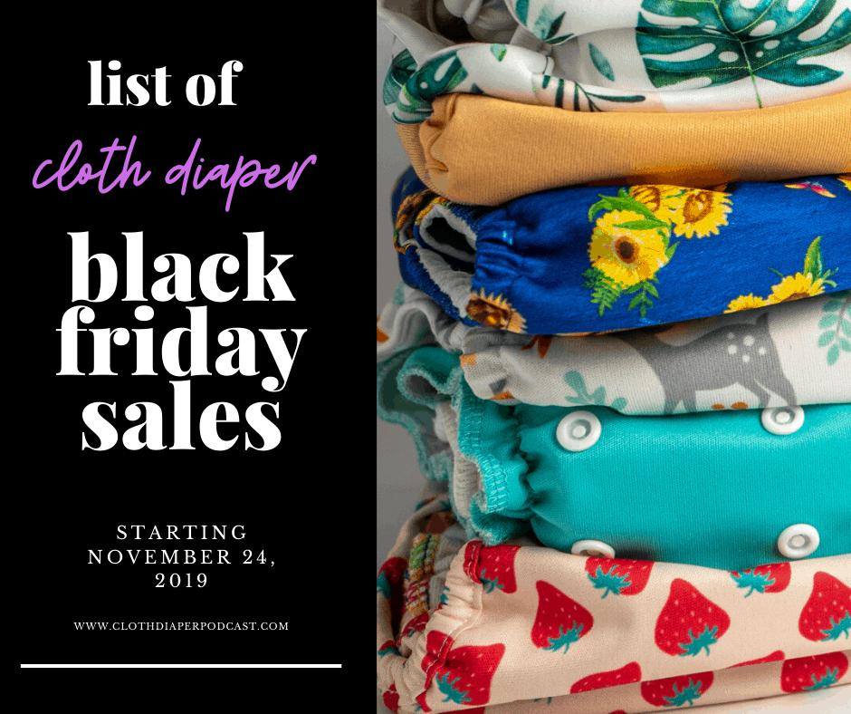 Cloth Diaper Black Friday 2019